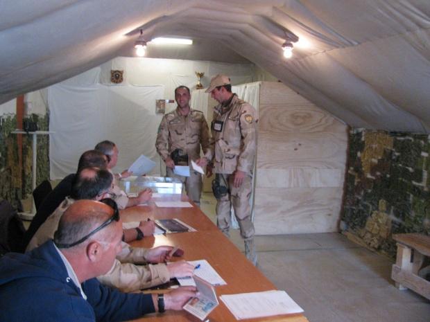 800 български военни гласуват в Босна, Косово, Афганистан, Грузия