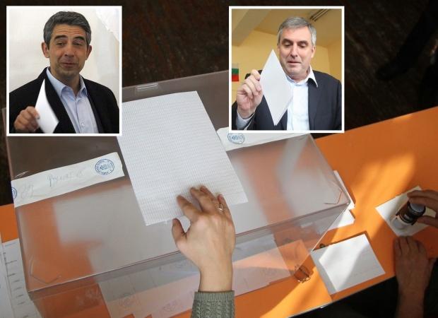 """Плевнелиев печели президентството с 53.8% – """"Галъп"""""""