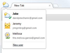 Chrome 16 beta поддържа работа с различни потребители