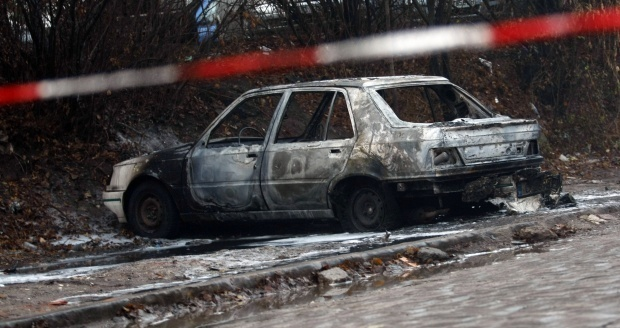 Две коли горяха в Силистра