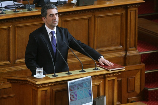 Плевнелиев се закле като президент на България