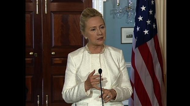 Хилари Клинтън на посещение в България