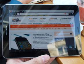 "Samsung Galaxy Tab 7.7 идва ексклузивно от ""М-Тел"""