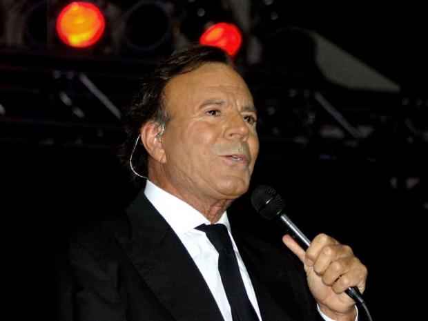 Хулио Иглесиас на турне в Аржентина