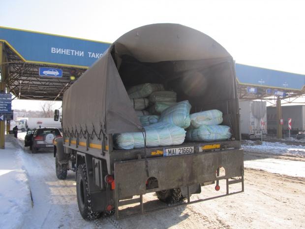 Румъния помага на България с чували за диги