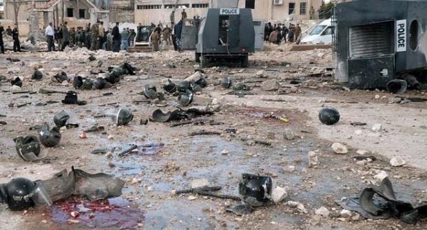 И сирийския Хама под бомбардировка