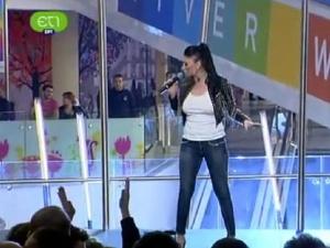Софи Маринова очаровала гърците