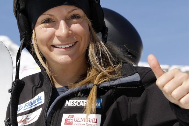 Александра Жекова завърши трета за Световната купа