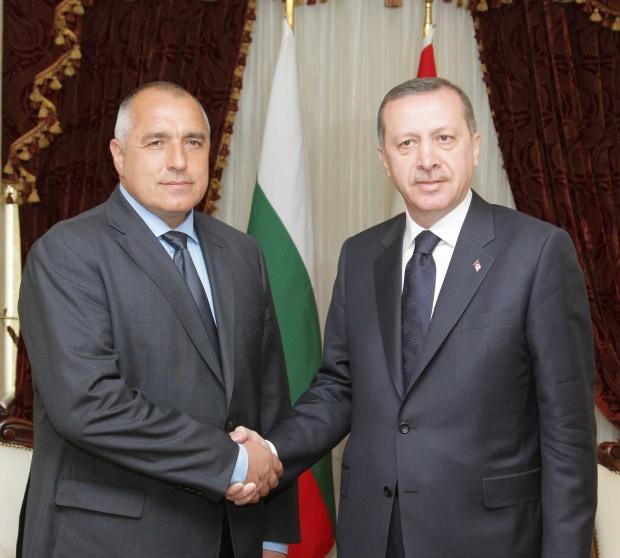 Борисов и Ердоган обещаха да си помагат