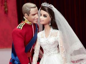 Барби Уилям и Катрин за годишнината от сватбата им