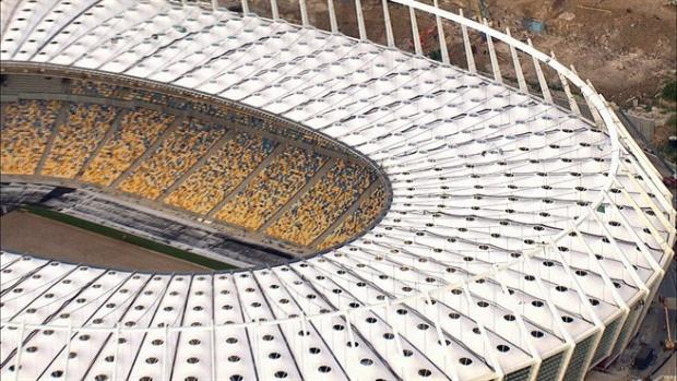 """Стадионите на Евро 2012: """"Олимпийски стадион"""", Киев"""