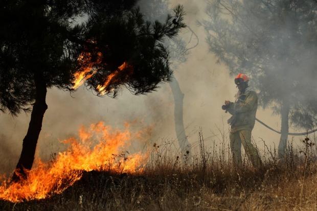 Борисов прати хеликоптер и пожарникари да гасят гръцки пожари
