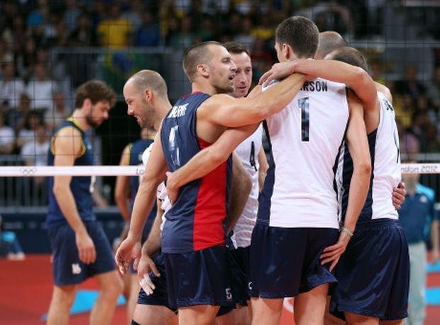 Волейболистите на САЩ разбиха Бразилия в Лондон