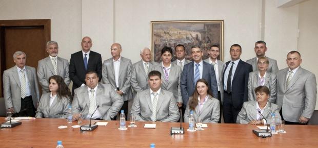 Плевнелиев към параолимпийците: Вие сте пример за България!