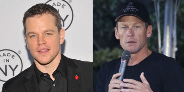 Мат Деймън може да изиграе Ланс Армстронг в биографичен филм