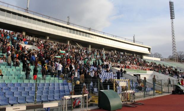 Между 5 и 15 лв вървят билетите за мача България – Украйна