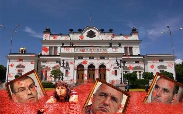 """""""Ройтерс"""": Доматена революция срещу корупцията в България"""