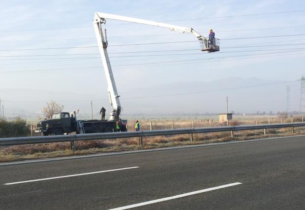 """Мъж загина при катастрофа на магистрала  """"Тракия"""""""