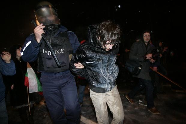 25 са задържаните след протеста в столицата