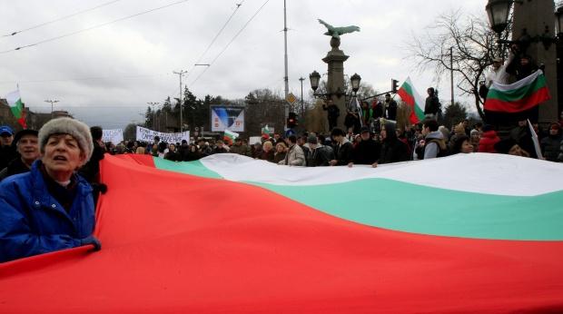 Ройтерс: Българските протести ескалираха