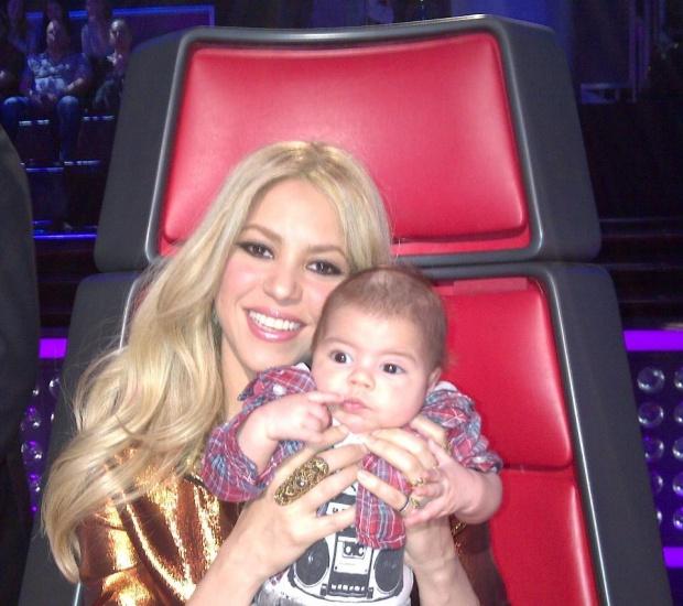 Шакира заведе бебето си в риалити шоу