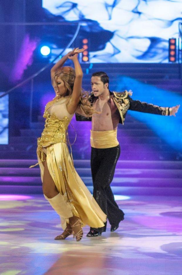 """Зрителите изгониха Андреа от """"Dancing stars"""""""