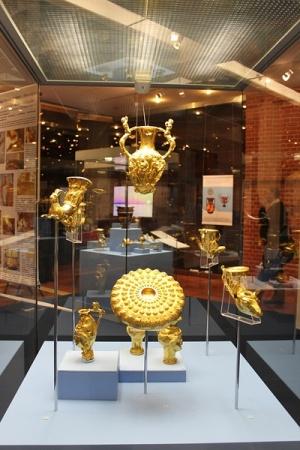 Тракийското злато се завръща от Москва в София