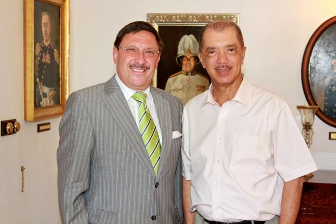 Президентът на Сейшелите се срещна с почетния консул  Максим Бехар