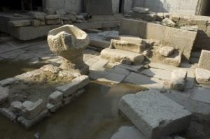 Реставрираха находките от храма на Кибела в Балчик