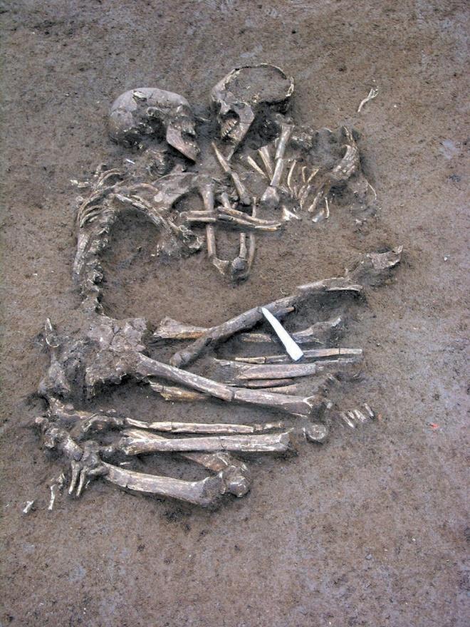 Скелети на двойка влюбени откриха в Сибир