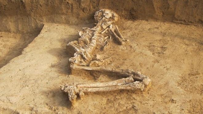 Скелет на бременна жена на 6000 години откриха в Свещари