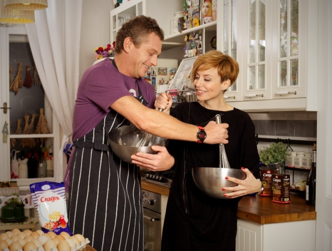 Юлиан: Юлиан Вергов и Стефания Колева влязоха в кулинарен дуел