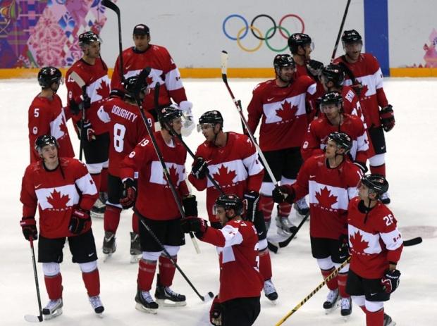 Канада би САЩ и отива на финал по хокей срещу Швеция в Сочи