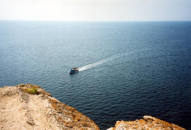 """Крепостта """"Кария"""" край Шабла потъва в морето"""