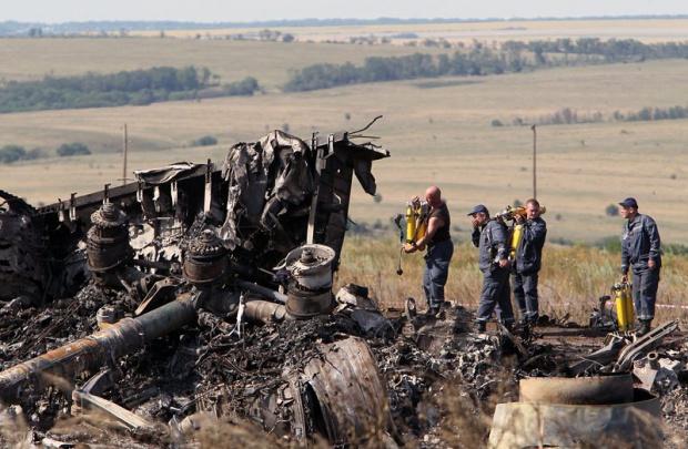 Разследването на катастрофата на Боинг 777 спря заради боеве