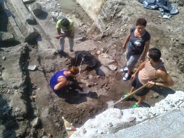 Скелет на номад открит при разкопки в Пловдив