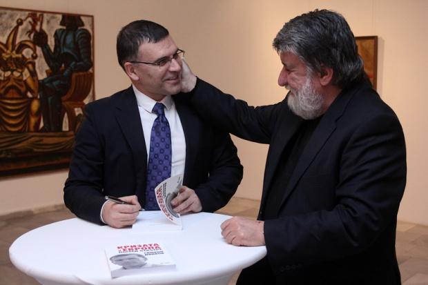 Former Finance Minister Djankov and current Cultural Minister Rashidov