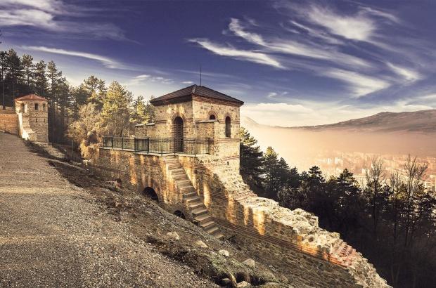 Грейна реставрирана римска крепост в Кюстендил
