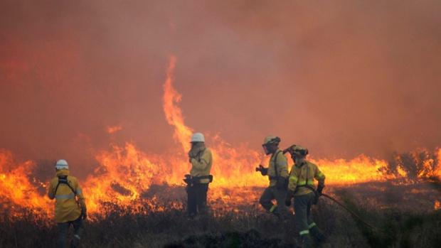 България пламна: Голям пожар край Хасково,  хиляди декари горят край Благоевград и Варна