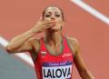 Български успех: Ивет Лалова се класира за полуфиналите в спринта на 100 метра