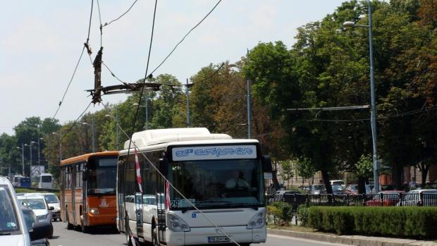 Свалят тролейбусните жици в Пловдив
