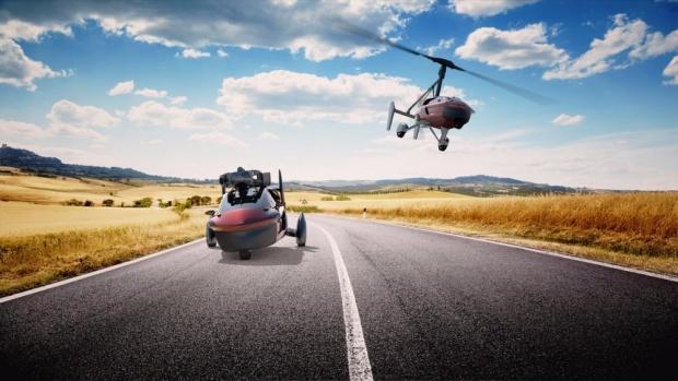 Холандска компания пуска на пазара първата летяща кола серийно производство (ВИДЕО)