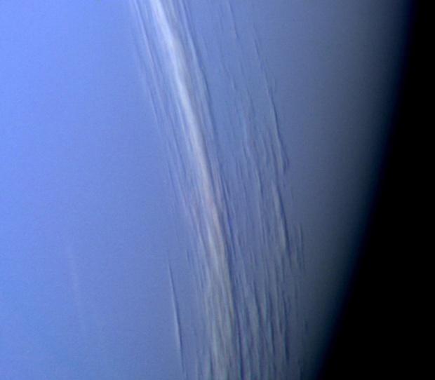 Примитивна атмосфера обгръща екзопланета, подобна на Нептун
