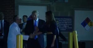 Снимка: Тръмп и Мелания посетиха простреляния конгресмен
