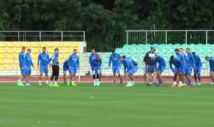 Наситено занимание на макс проведоха играчите на Левски. Те продължават