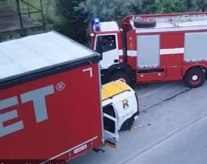 Tежка катастрофа взе жертва на международния път Е-79. Инцидентът е