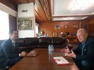 Кметът на Смолян Николай Мелемов се срещна с генералния консул
