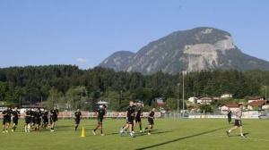 Лудогорец проведе първа тренировка в Австрия. След обяд в понеделник