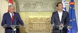 Турският премиер Бинали Йълдъръм заяви пред своя гръцки колега Алексис