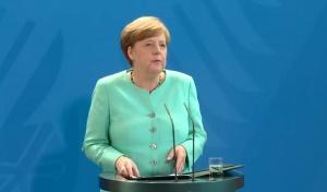 Канцлерът на ФРГ Ангела Меркел изрази надежди, че срещата на